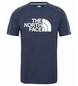 The North Face Camiseta Wicker Graphic azul marino / FlashDry