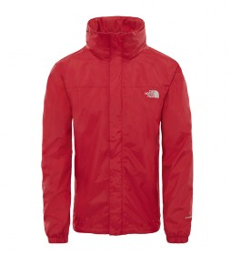 The North Face Chaqueta Resolve rojo -DryVent-