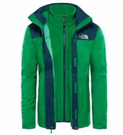 The North Face Chaqueta trekking Evolve II verde / Triclimate®
