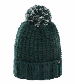 The North Face Cozy Chunky green hat