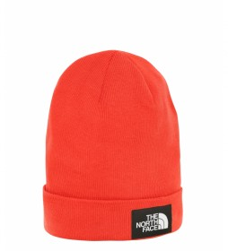 The North Face DOCKWKR RCYLD BEANIE FIERYRD / TNFBLK