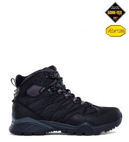The North Face Hedgehog Fastpack Mid black leather boots -Gore-Tex / OrthoLite-