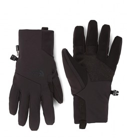 The North Face Gloves Apex + Etip black