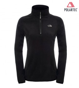 The North Face Jersey 100 Glacier noir -Polartec-