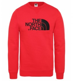The North Face Maglia M Drew Peak Rew rossa