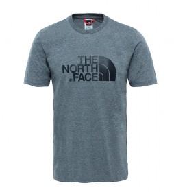 The North Face Camiseta de algodón Easy gris