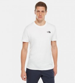 The North Face T-shirt Simple Dome bianca