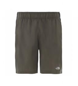 Pantalón Corto 24/7 taupe verde
