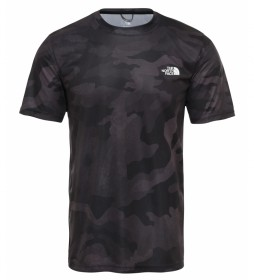 The North Face T-shirt Reaxion nera, grigia