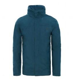 The North Face Veste Sangro Kodiak bleu / DryVent