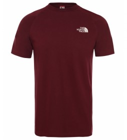 The North Face T-shirt North Faces Deep Garnet burgundy