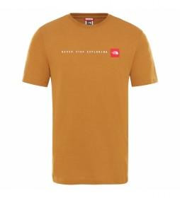 Camiseta NSE Timber Tan marrón
