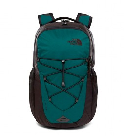 The North Face Mochila Jaster negro, verde  / 820g / 29L / 29,2x34,3cm