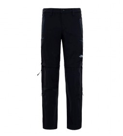 The North Face Pantalón convertible Exploration negro -DWR-