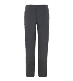 The North Face Pantalon gris d'exploration