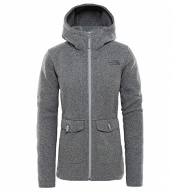The North Face Chaqueta Crescent Mujer gris