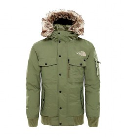 The North Face Plumón Gotham verde