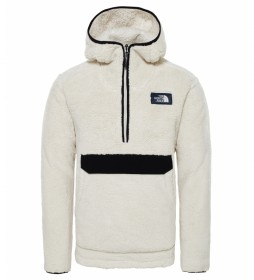 The North Face White Campshire sweatshirt