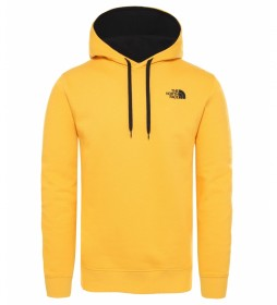 The North Face Sweatshirt saisonnier Drew Peak jaune