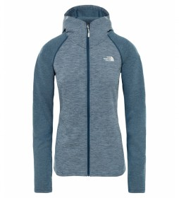 The North Face Invene blue sweatshirt