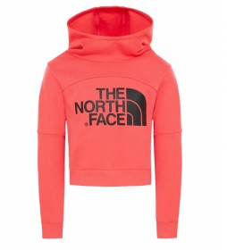 The North Face Short orange sweatshirt