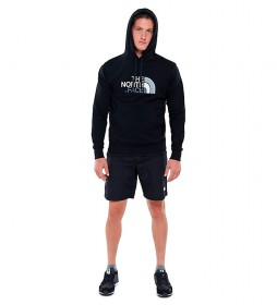 The North Face Drew Peak cotton sweatshirt black