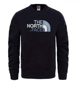 The North Face Sudadera de algodón Drew Peak negro