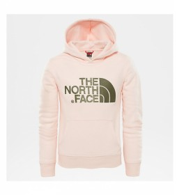 The North Face Drew Peak pink sweatshirt