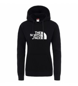 The North Face Felpa Drew Peak nera