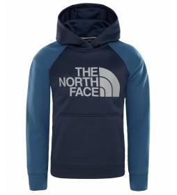 The North Face Sudadera Polar  azul
