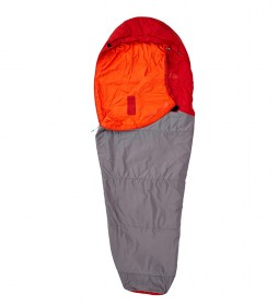 The North Face Sleeping bag Aleutian Ligth red, gray / 737g / Standard / Zip Diestro
