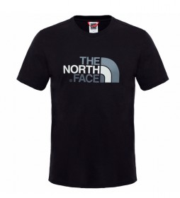The North Face Camiseta de algodón Easy Tee negro