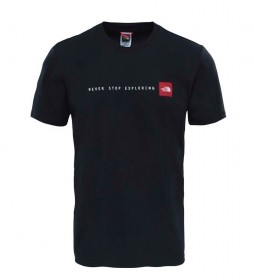 The North Face Camiseta Nse negro