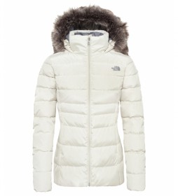 The North Face Plumón W Gotham blanco / Heatseeker