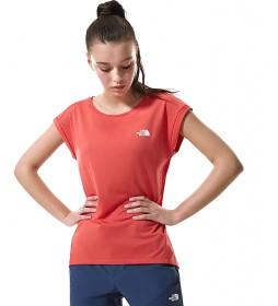 Camiseta Tanken coral