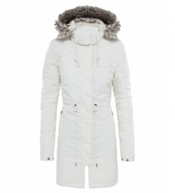 The North Face Parka Zaneck blanco / DryVent