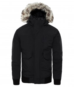 The North Face Piumino Gotham nero / DryVent
