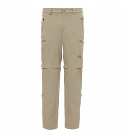 The North Face Convertible Exploration Pants bege