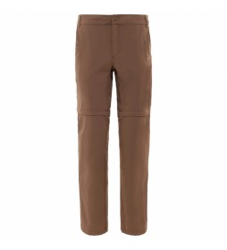 The North Face Brown Convertible Exploration Pants