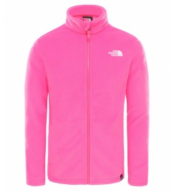 The North Face Snowquest Pink Fleece Lining