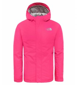 The North Face Veste de pluie Snowquest rose / Heatseeker