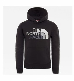 The North Face Sudadera Drew Peak negro, gris