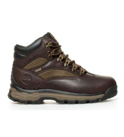 Timberland Outdoor leather boots A1HKQ brown - GORE-TEX ® membrane -
