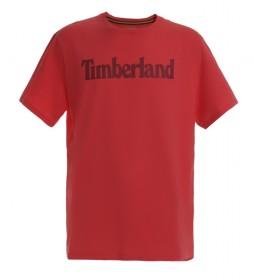 Camiseta K-R Brand Linear T rojo
