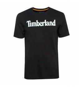 Camiseta Kennebec River Brand Linear negro