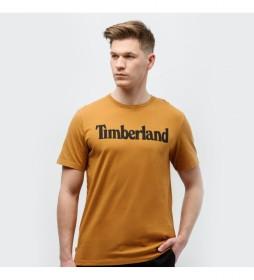 Camiseta Kennebec River mostaza