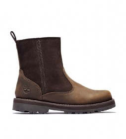 Botas de piel Courma Kid Warm Lined Boot marrón
