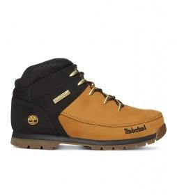 Botas de piel Euro Sprint amarillo, negro / Rebotl