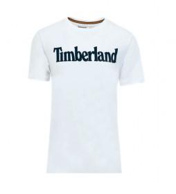 Camiseta Kennebec River Brand Linear blanco