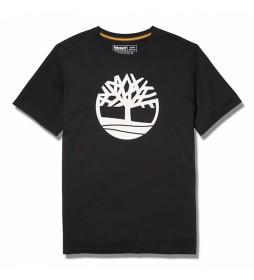 Camiseta Kennebec River Brand Tree negro